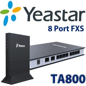 Yeastar TA800 FXS Gateway Kampala Uganda