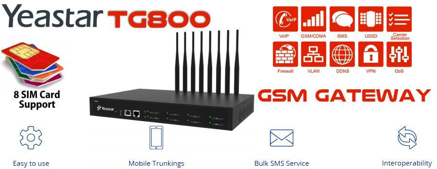 Yeastar TG800 GSM Gateway Kampala