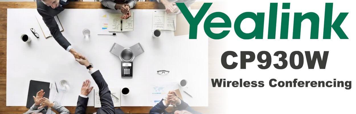 Yealink CP930w Wireless conference Phone Uganda