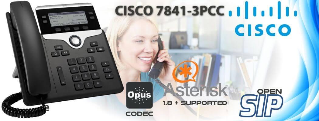Cisco CP-7841-3PCC Open SIP Phone Uganda