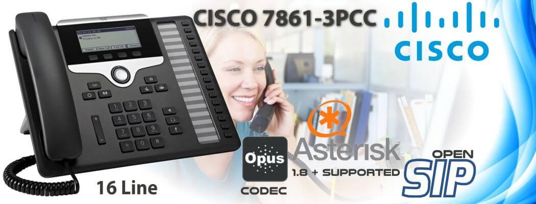 Cisco CP-7861-3PCC Open SIP Phone Uganda