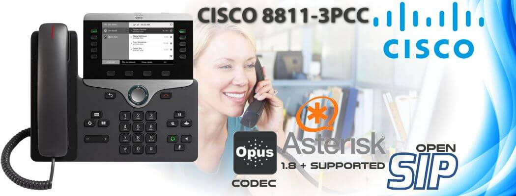 Cisco CP-8811-3PCC Open SIP Phone Uganda