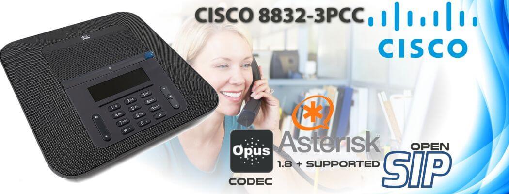 Cisco CP-8832-3PCC Open SIP Phone Uganda