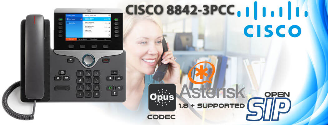 Cisco CP-8842-3PCC Open SIP Phone Uganda