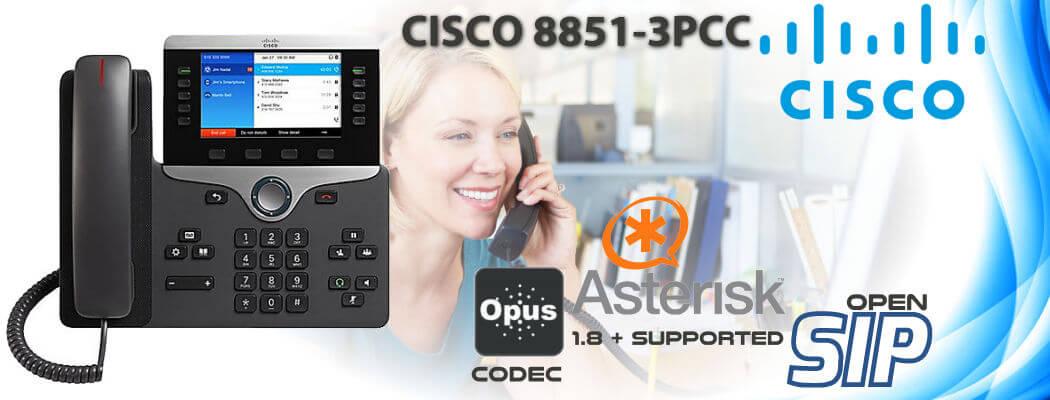 Cisco CP-8851-3PCC Open SIP Phone Uganda