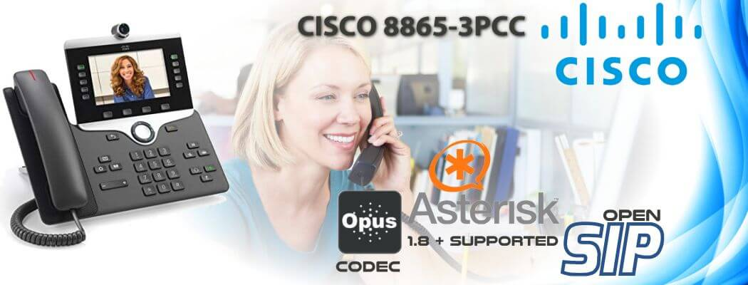 Cisco CP-8865-3PCC Open SIP Phone Uganda