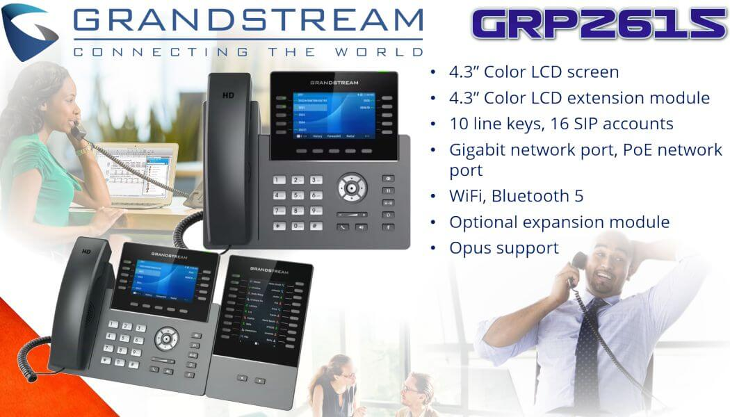 grandstream grp2615 voip phone