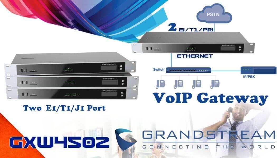grandstream gxw4502 2 port pri gateway