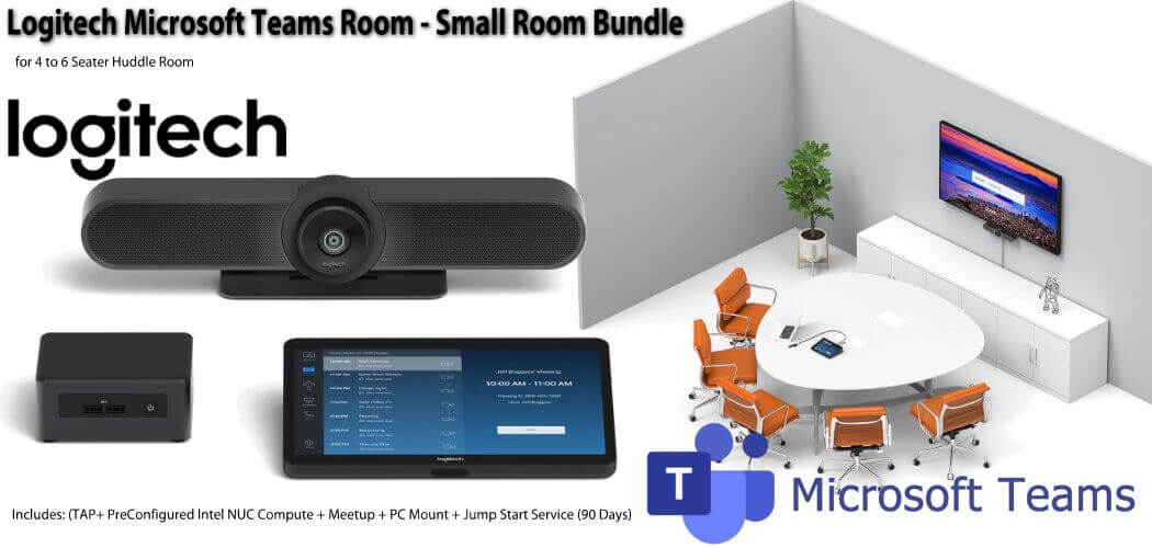 Logitech Microsoft Teams Small Room Bundle
