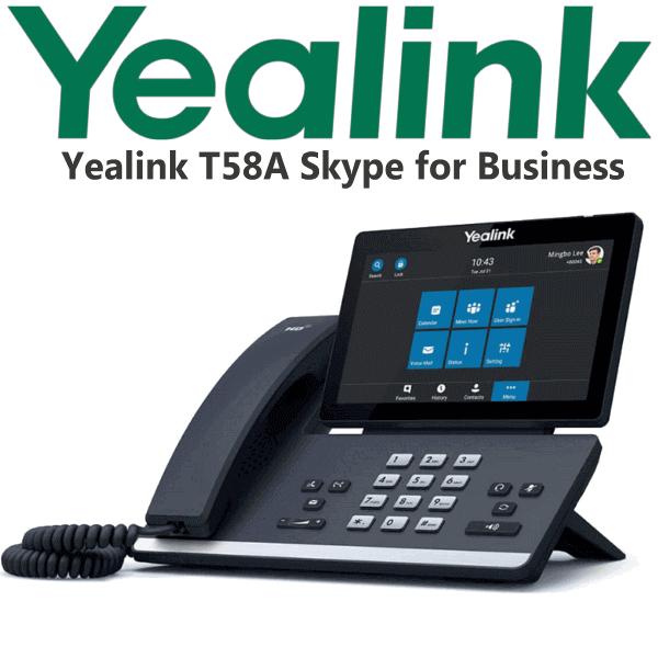 Yealink Sip T58a Skype For Business Uganda